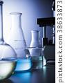 연구 실험 실루엣 38633873