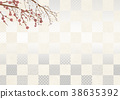 梅 日本纸 和纸 38635392