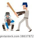 Baseball team player vector sport man in uniform 38637872
