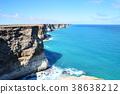 호주 대륙의 끝없이 펼쳐진 절벽 38638212