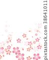 ดอกซากุระบาน,ซากุระบาน,พื้นหลัง 38641011