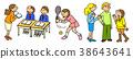 校園生活 學生 課程 38643641
