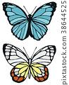 벌레, 곤충, 나비 38644525