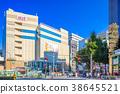 Scenery of Tokyo Ebisu station West exit station 38645521
