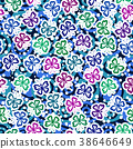Seamless, Symbolical Butterflies 38646649