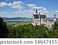 新天鵝堡 城堡 建築 38647455