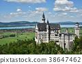 新天鵝堡 建築 德國人 38647462