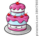 cake,birthday,colorful 38647860