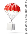 red parachute 38650545