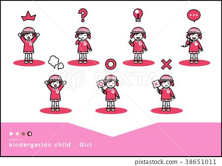 学前班儿童 幼儿园儿童 儿童 38651011