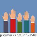 hands up 38651580