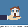 home in hand 38651586