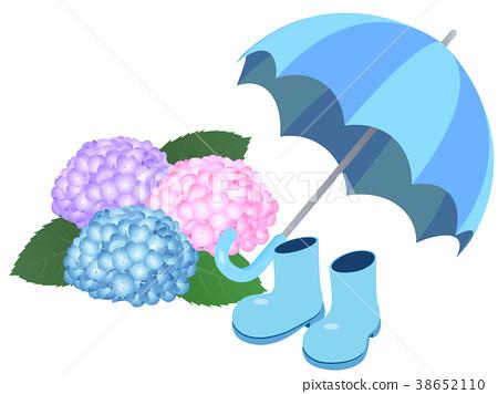 雨衣 雨季 梅雨 38652110