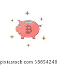 cryptocurrency bitcoin piggy 38654249