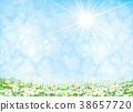 Vector summer  nature  background. 38657720