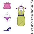 clothes elegant female 38658078