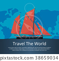 boat sail travel 38659034
