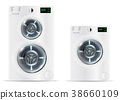 Front Load White Washing Machines 38660109