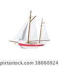 船 帆船 海 38660924