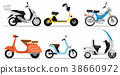 scooter vintage motorbike 38660972