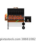 grill, barbecue, gas 38661082