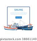 船 帆船 航海 38661140