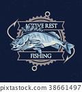T-shirt label design 38661497