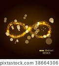 infinity, neon, symbol 38664306