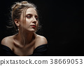 portrait, beautiful, woman 38669053