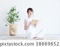 젊은 여성 (독서) 38669652