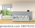 interior, modern, style 38670202