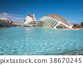 View of City of Arts and Sciences Valencia Spain 38670245
