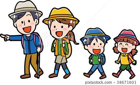 遠足 家庭 家族 38671601