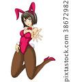 兔女郎 兔子 兔 38672982