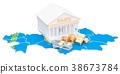 Kazakhstan, Kazakh, bank 38673784