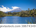 Mount Taranaki in New Zealand 38674349