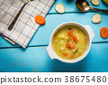 Hmemade vegetables soup 38675480
