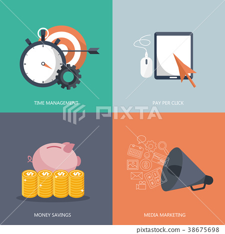 Management, pay per click, savings and marketing 38675698