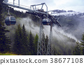 elevator in the Dolomites 38677108