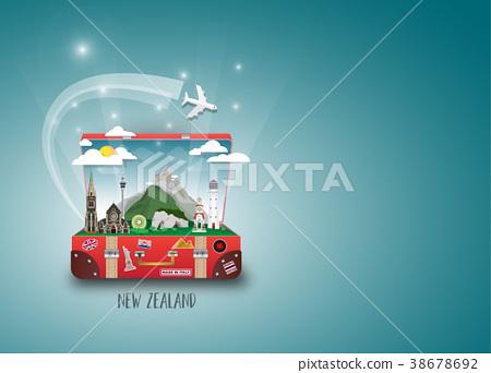 New Zealand Landmark Global Travel And Journey. 38678692