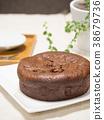 巧克力蛋糕 蛋糕 糕點 38679736