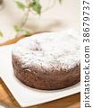 巧克力蛋糕 蛋糕 糕點 38679737