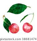 樱桃 红色 红 38681474