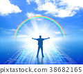 Hope Unknown Dream Towards the People Man Blue Sky Future 38682165