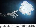cubes cyborg futuristic 38684097