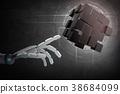 hand cyborg futuristic 38684099