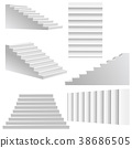 staircase stairway 3d 38686505