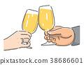 與啤酒敬酒 38686601