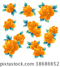 玫瑰 玫瑰花 花朵 38686652