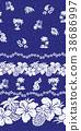 槿 熱帶 菠蘿 38686997